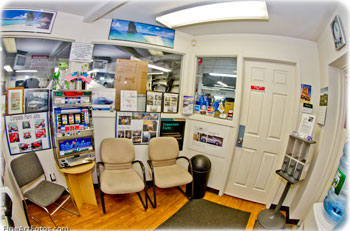 Deville Auto Repair Waiting Area